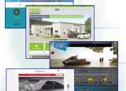 Páginas web, diseño de sitios web