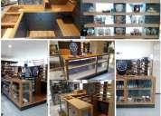 Arquitectos + modulos de venta + diseño retail +tramitación municipal
