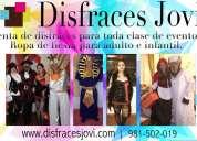 Disfraces jovi | renta de disfraces y trajes | valparaíso