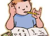 Clases y reforzamiento de inglés y matemáticas a domicilio.
