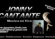 Musica en vivo jonny cantante antofagasta