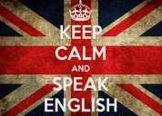 Clases de inglés. todos los niveles. conversación. preparación entrevista laborales
