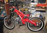 bicicleta de descenso gios de aluminio, vendo o permuto