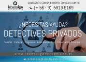 Detectives privados en chile servicios profesionales