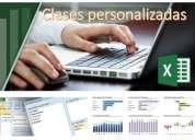 Clases personalizadas excel, access, trabajos
