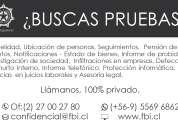 Fb investigadores  privados profesionales en chile