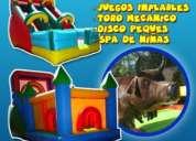 Arriendo de juegos inflables producciones pintacaritas  rancagua
