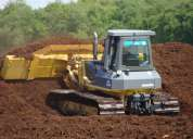 Arriendo de bulldozer d6