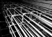 Pilares y cadenas construccion