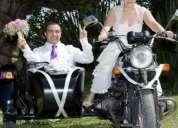 Arriendo moto sidecar