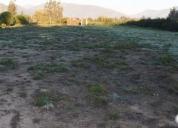 Vendo terreno en panquehue de 5.332 mts2