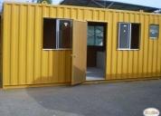 Container oficina modular 20 pies,contactarse!