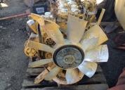 Vendo excelente motor caterpillar máquinas