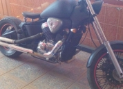 Moto honda estilo bobber en excelente estado