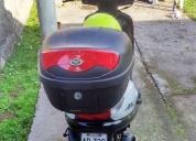 Se vende excelente Scooter Suzuki Hayate AT,año 2014.Casi nueva..