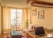 hermoso  departamento interior en casa en condominio EL OLMO