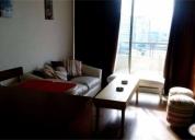 Excelente departamento amoblado 1 dormitorio, centro