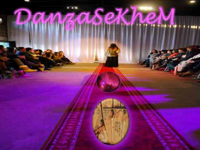 Clases de danza árabe egipcia, gimnasia descontracturante y meditación
