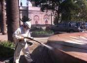 Hidrolavados hidroarenados limpieza de edificios