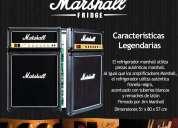 Frigobar marshall fridge, amplificador