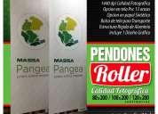 Pendones roller impresos en tela pvc grafica24ltda