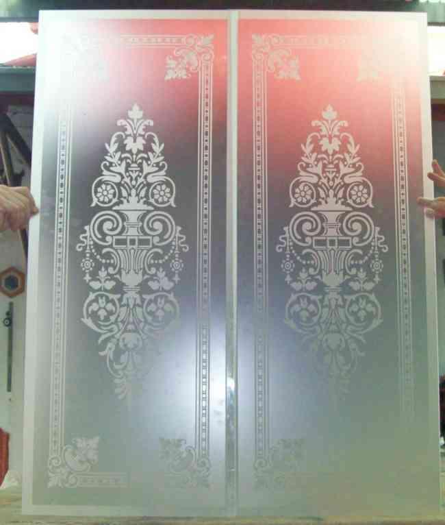 Cristales decorados para puertas de interior puertas de - Cristales al acido para puertas ...