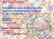 Clases de pintura al óleo y dibujo / talleres de arte para niñ@s