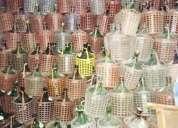 Garrafas de vidrio 5 litros
