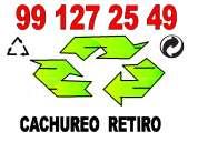 Cachureos retiro 991 27 25 49 comunas varias reciclaje reutilizo