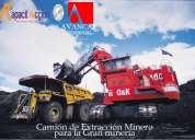 Curso de camión de extracción minero (avancap – kapacitaccion) la serena