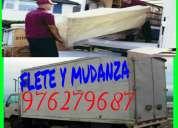 Transporte fletes y mudanzas 24 horas 976279687