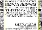 DiseÑo grafico, tarjetas de presentacion y similares