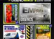 Impresion digital, diseÑo grafico, produccion publicitaria