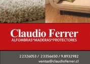 Protectores para piso y alfombras www.claudioferrer.cl