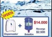 Promoción agua purificada premium