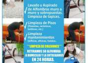 Providencia, macul, Ñuñoa, la reina, las condes limpieza de alfombras , sillones, sillas, pisos;