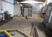 Arriendo excelente galpón 400 m2