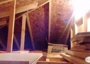 terreno y casa madera en venta