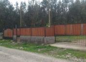 Vendo terreno de 1000 m2 con casa.contactarse