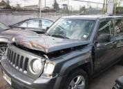 Excelente jeep patriot sport año 2012 chocado