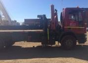 Camión pluma iveco 170 e gru p con pluma