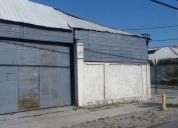 Arriendo excelente propiedad industrial