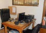 Arriendo excelente oficina - taller - para vivir