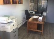 Comercial 6 oficinas + bodega + terreno