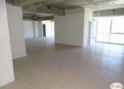 arriendo oficina de 154 m2.