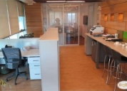 Arriendo increible oficina de 120 m2.contactarse.