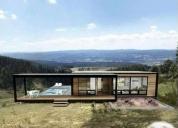 Excelente casas modulares para sitios parcelas cabañas