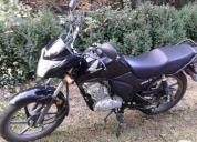 Vendo excelente moto cb1 125cc. año 2016