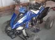 Vendo excelente moto choper y cuatrimoto