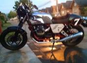 Excelente moto guzzi café racer.